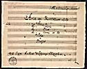 Einzelne Arien mit Orchester Begleitung von W. A. Mozart