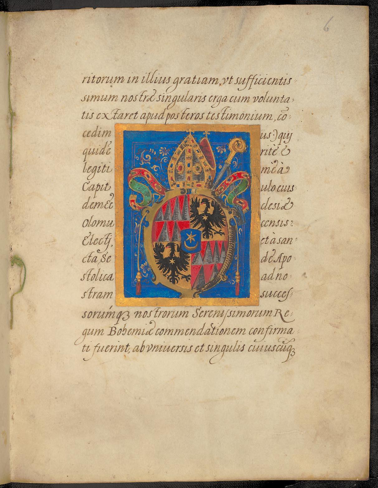 Copia decreti Rudolphi II.