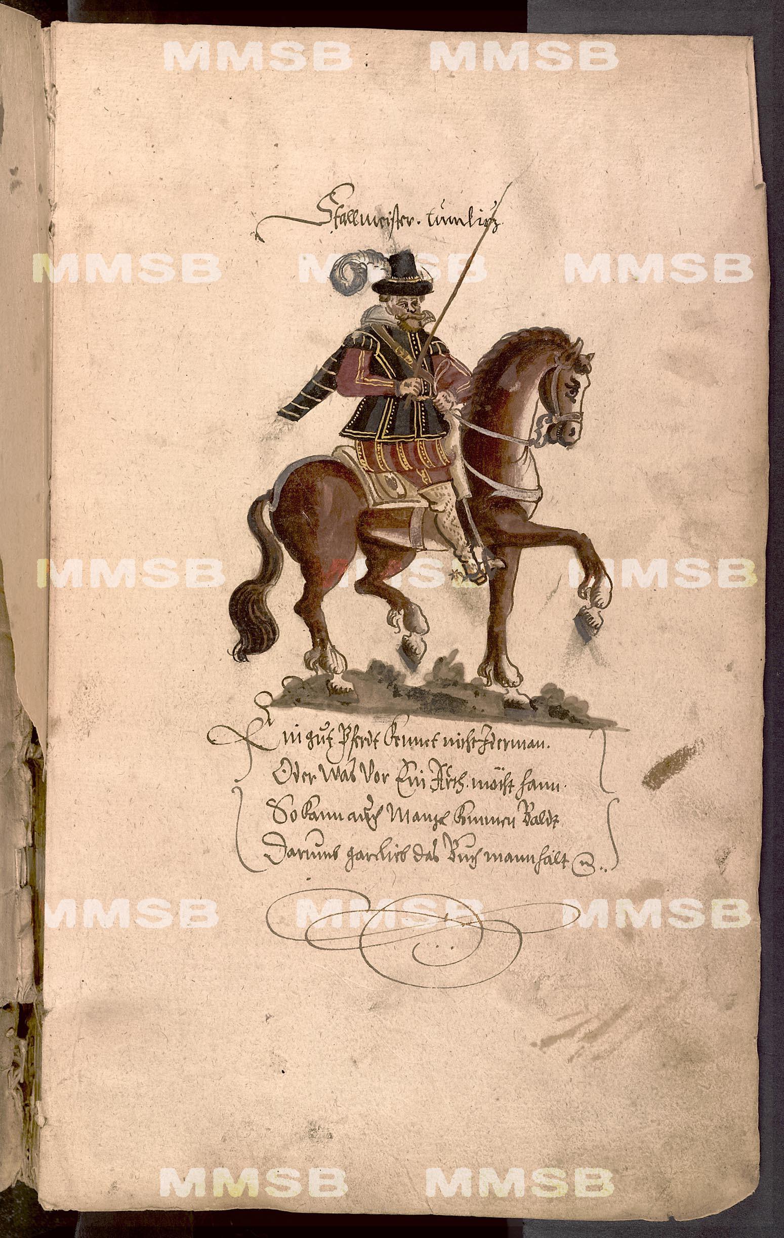 Kunst-Buch der Pferde