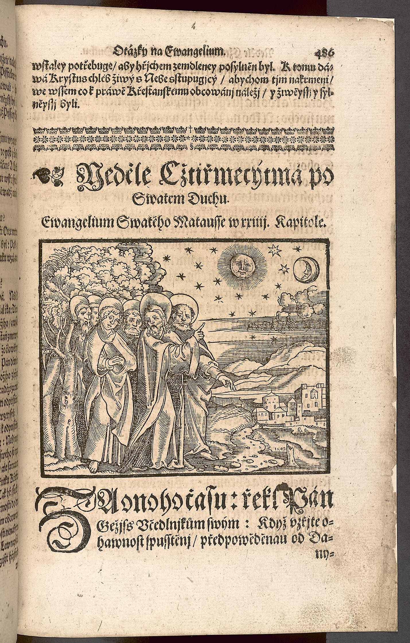Vojtěch Šebestián Scipio-Berlička: Postila nedělní a sváteční, jak kostelní, tak domácí