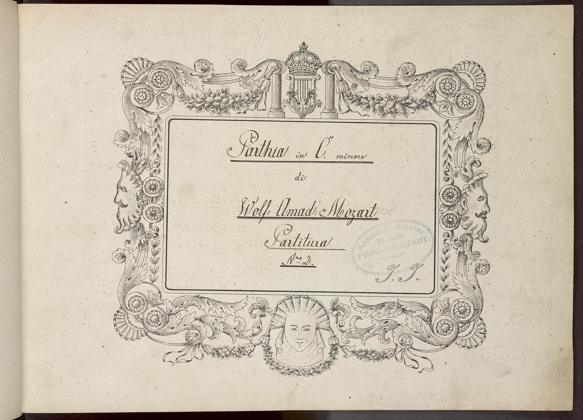 Octett für 2 Oboen, 2 Clarinetten, 2 Horn[er] und 2 Fagotten von W. A. Mozart