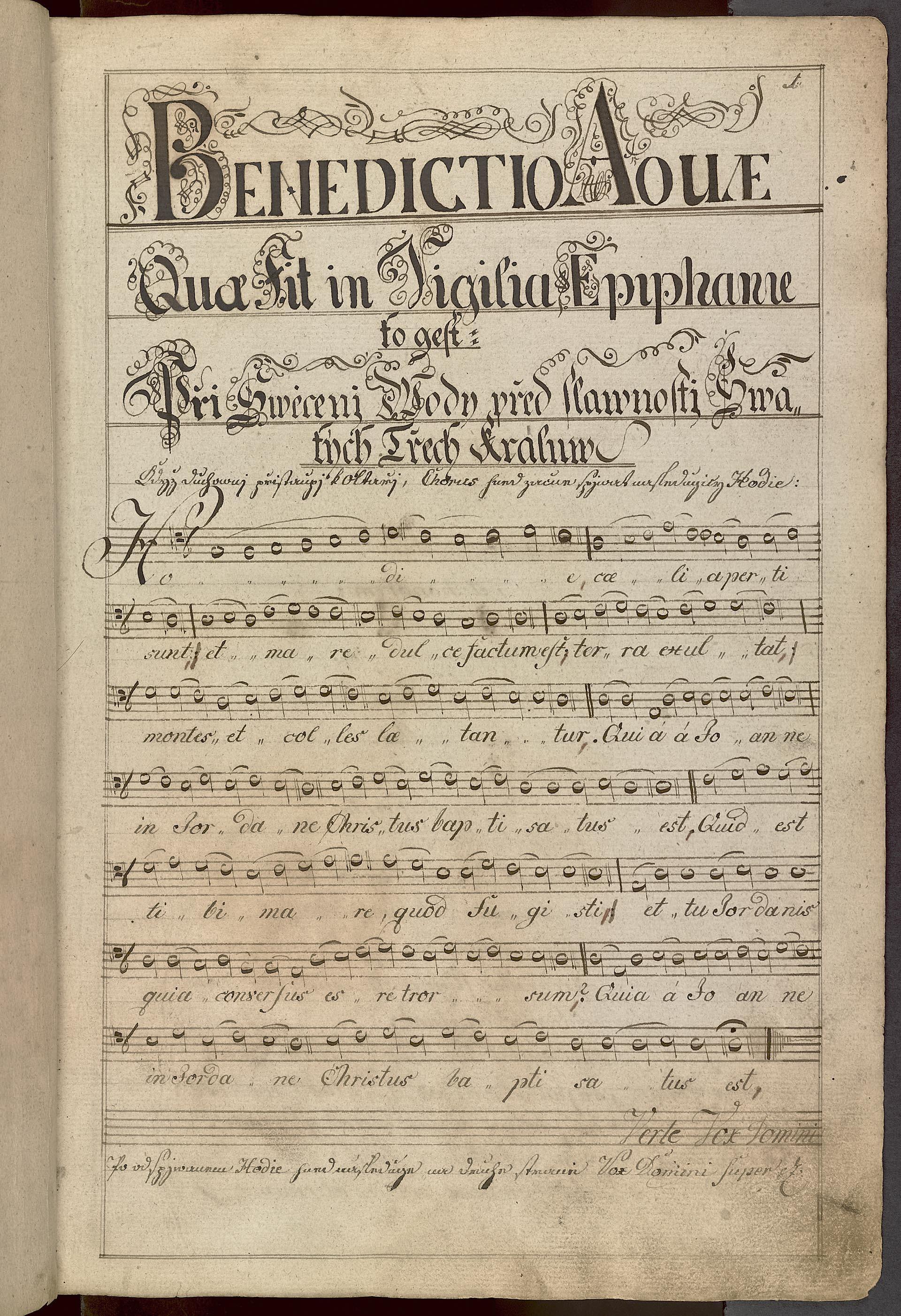 Liber Ceremoniarum Per Totumannum Compilatus [...] Iohannis Baptist Mazel