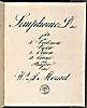 Simphonie in D dur / W. A. Mozart