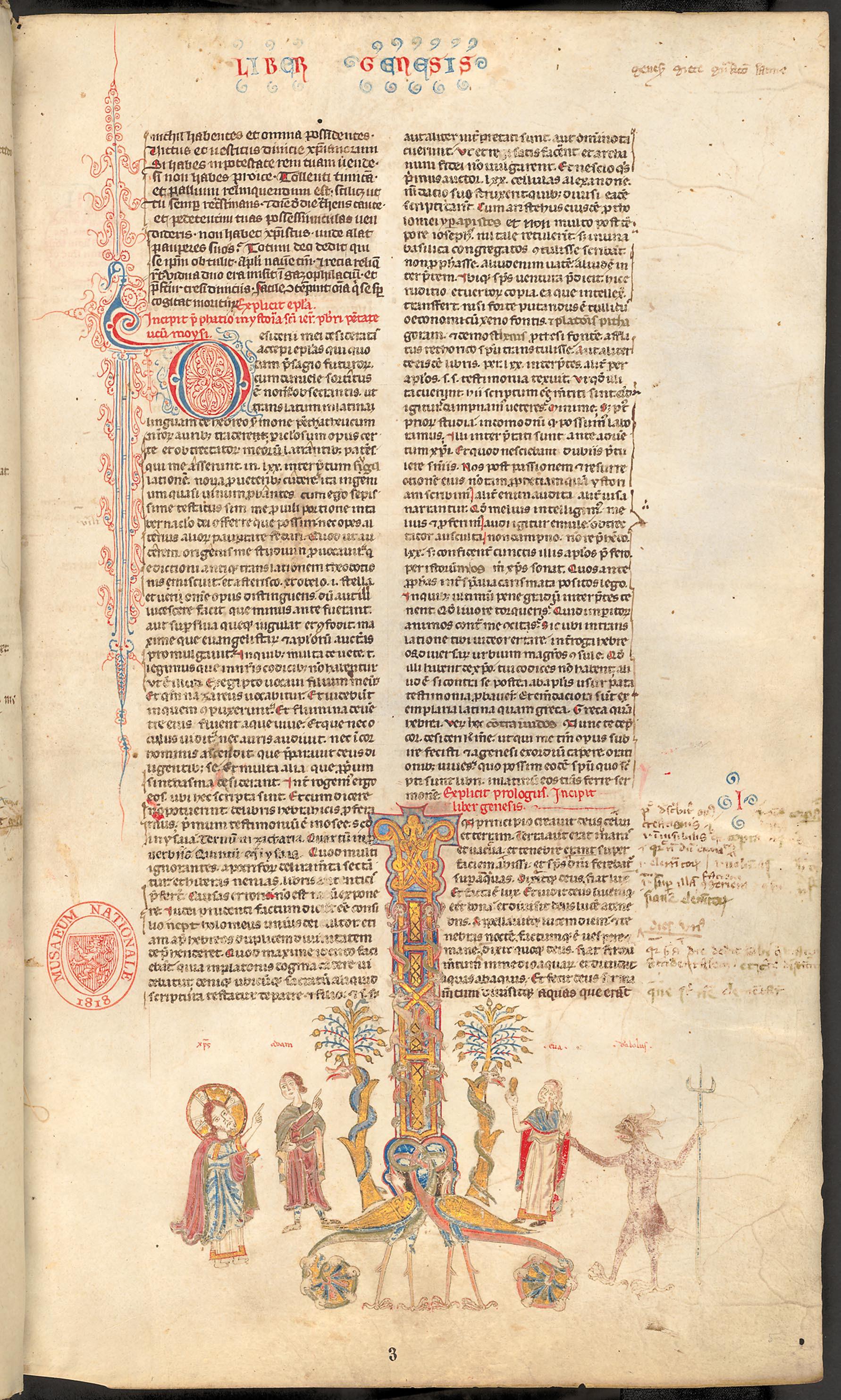 Biblia; Pseudo-Stephanus Langton: Interpretationes nominum hebraicorum; Sermones et excerpta