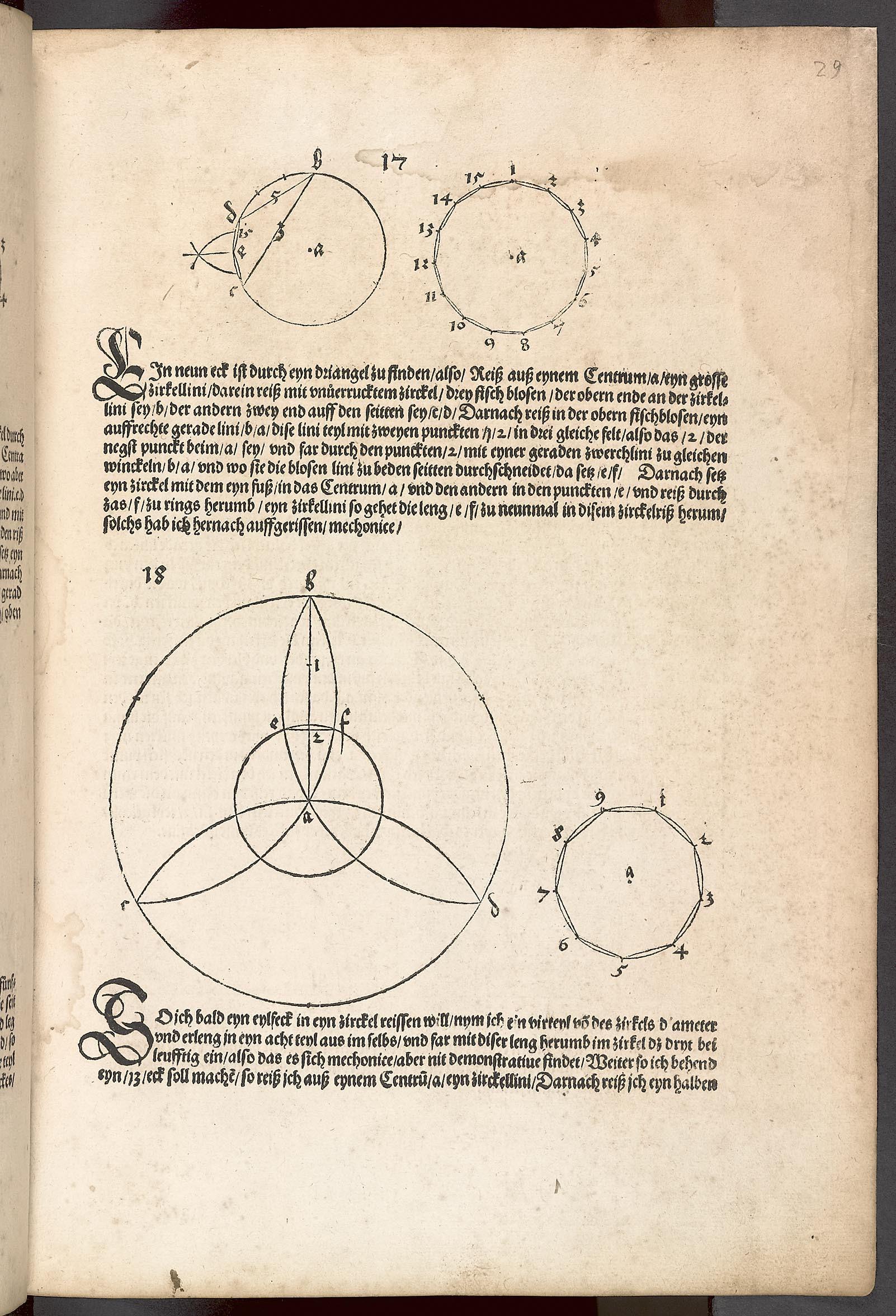 Albrecht Dürer: Unterweisung der Messung mit dem Zirkel und Richtscheit; Jean Pèlerin: Von der Kunst Perspectiva